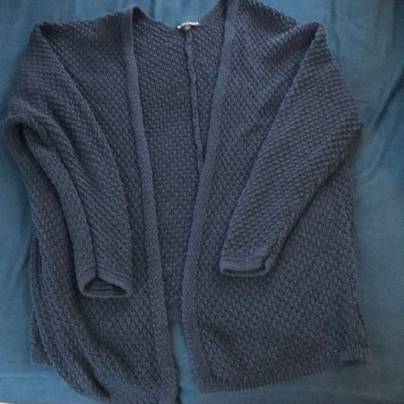 aa9fc9523d4 Brandy Melville Sweaters - Brandy Melville chunky knit cardigan NAVY